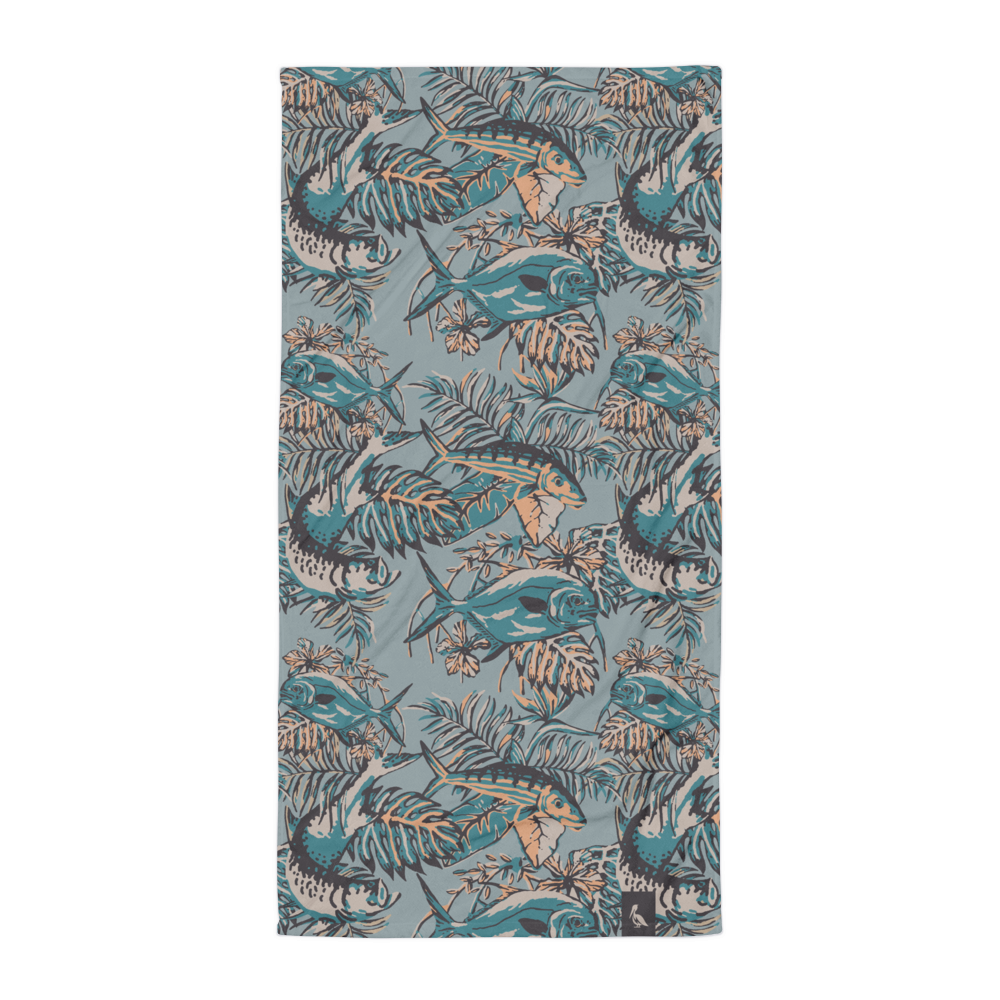 Slamdown Beach Towel - Slackertide