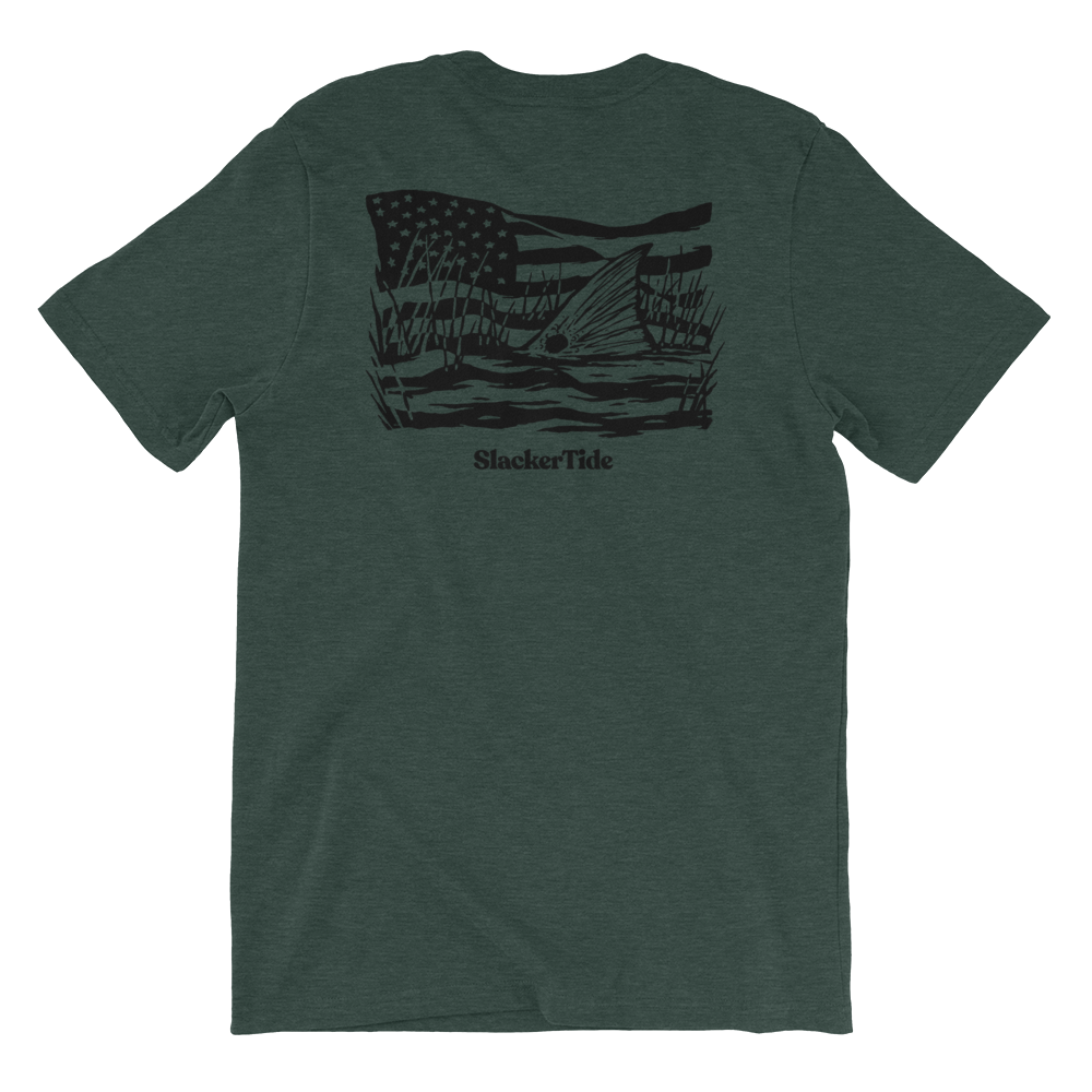 Thin Red Line Short-Sleeve Unisex T-Shirt