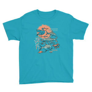 Sunny Slam Youth Short Sleeve T-Shirt - Slackertide