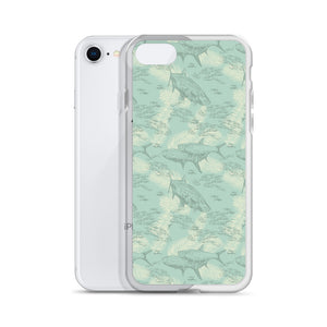 Fins and Fronds iPhone Case
