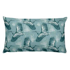 Herons Premium Pillow - Slackertide