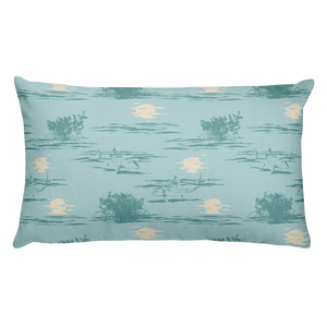 Belize Bones Premium Pillow - Slackertide