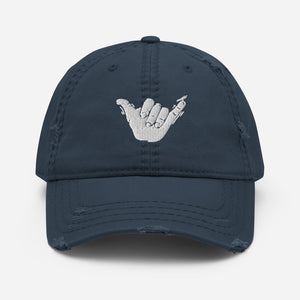 Shaka Distressed Dad Hat