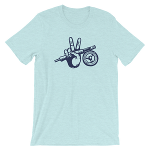 Peace Fly Short-Sleeve Unisex T-Shirt - Slackertide