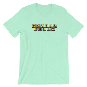 Double Bogey Short-Sleeve Unisex T-Shirt