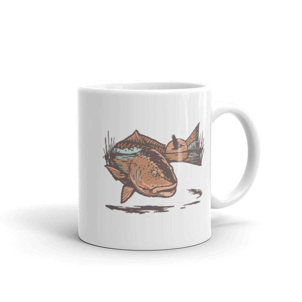 Left on Red Mug - Slackertide
