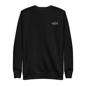 Poon Bolt Embroidered Unisex Fleece Pullover
