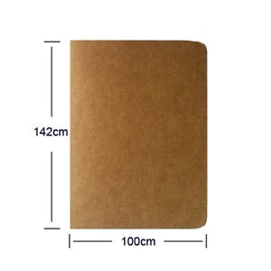 Paper Notebook Blank Notepad Book Vintage Soft Copybook