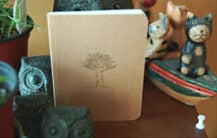 Vintage style Notebook  12.5*9cm Paper Notepad