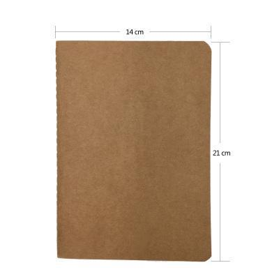 1 Pcs Vintage Soft Copybook Daily Memos Kraft Cover Journal Notebooks Cowhide Paper Notebook Blank Notepad Book