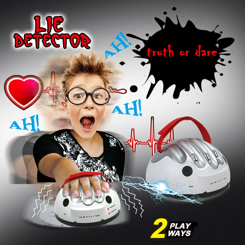 Polygraph Lie Detector for Fun