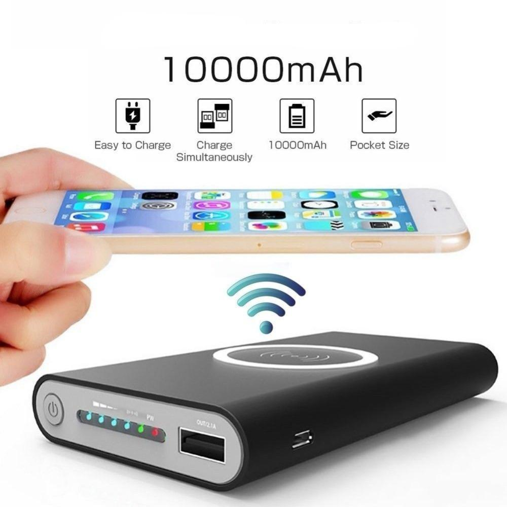 Fastest Wireless Power Bank & Charger