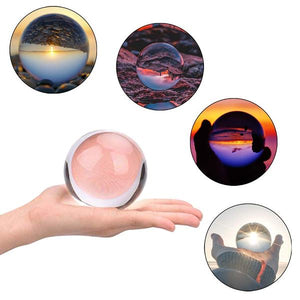 Professional Photography Lensball K9 Crystal Glass Ball