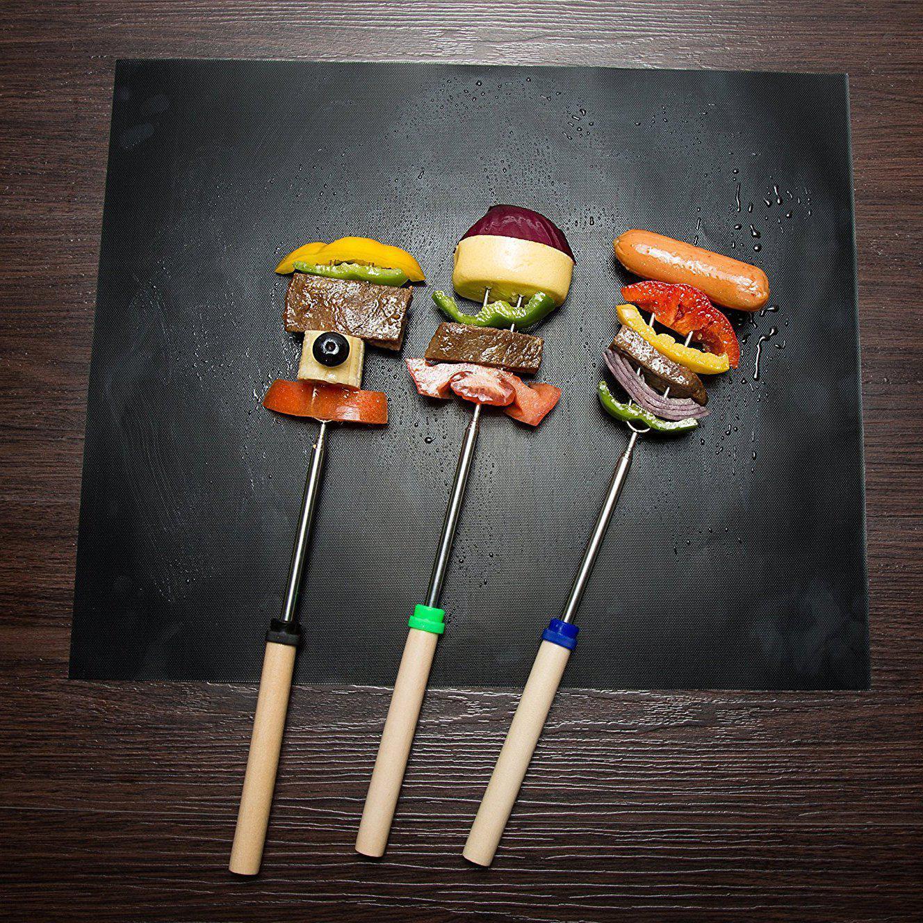 Ultimate BBQ Non-Stick Grill Mats