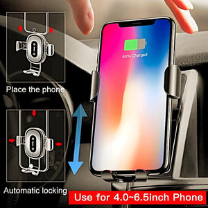 Fastest Wireless Car Charger & Phone Mount