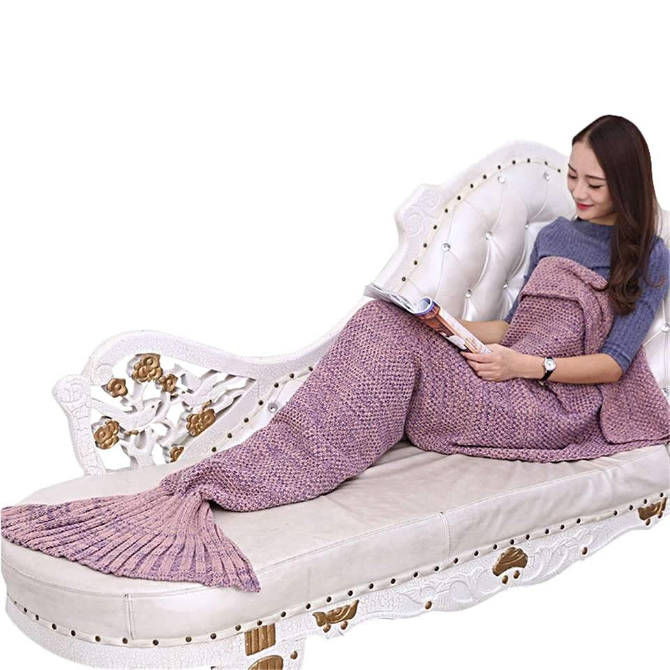 Super Cute Mermaid Tail Blanket