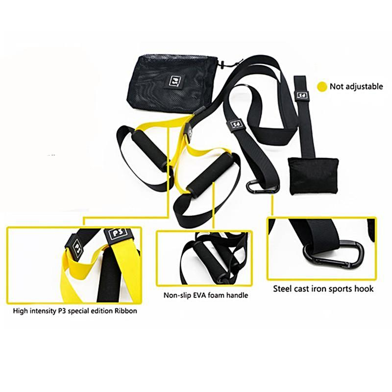 Home Fitness Training Suspension Straps System