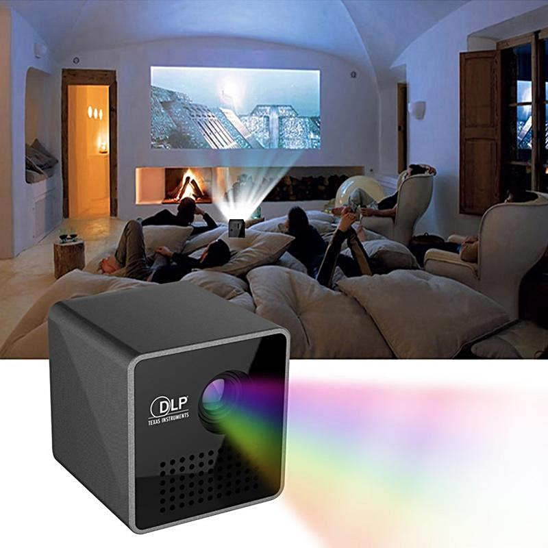 Crystal Clear Ultra-Portable Mini Projector - Create a Home Movie Theater from the Palm of Your Hand!