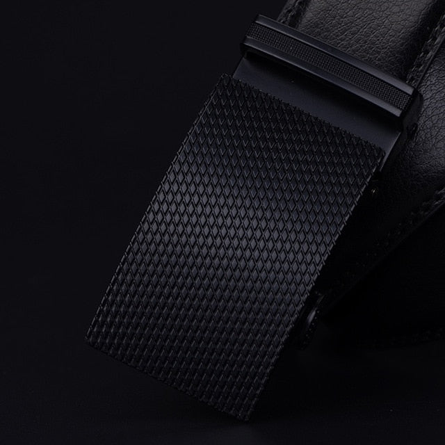Leather Belt - Black Aesthetics