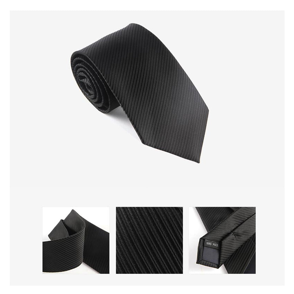 Waterproof Business Necktie - Black Aesthetics