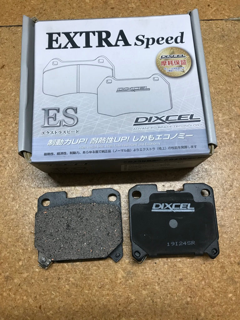 Dixcel ES Brake Pads rear Toyota Supra Mk4 JZA80 and Celica ST202 GT4 2-Pot