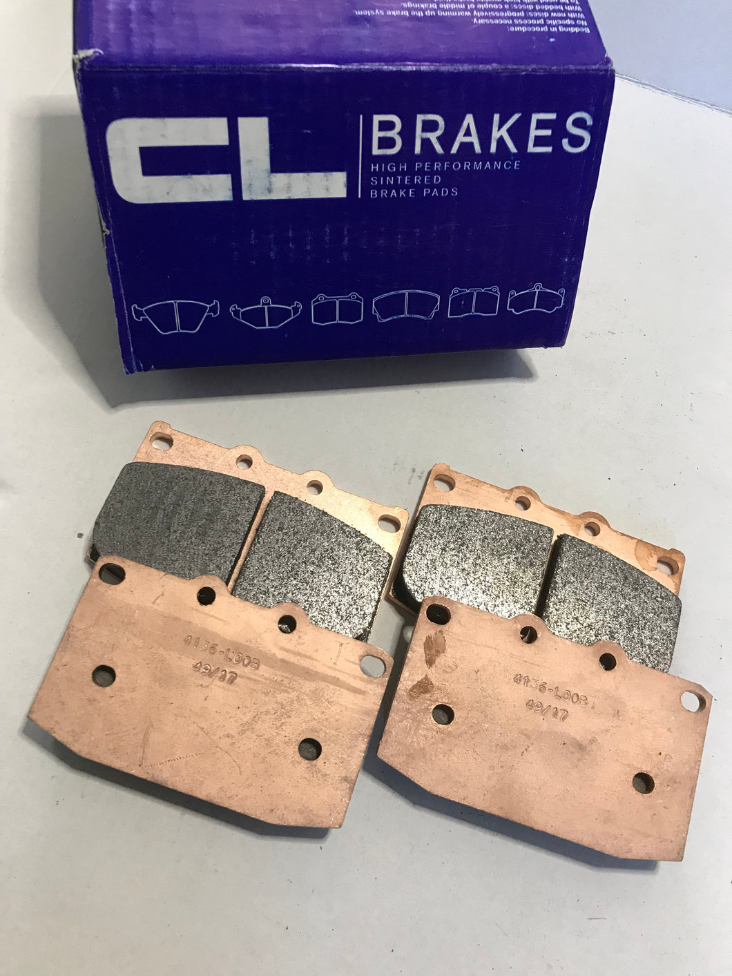 Mazda Rx7 FC/FD CL Brakes RC6 brake pads**Clearance Special 1x set left!!
