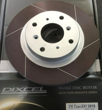 FS Front Disc Rotor set Honda Prelude 282mm