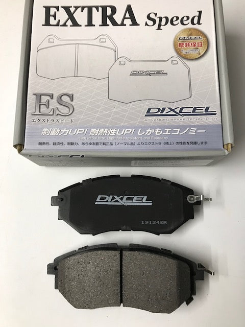 Dixcel ES front brake pads Subaru Legacy BP/BL 3.0 and Turbo