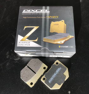 Dixcel Z Brake Pad set Subaru WRX Rear 2-Pot