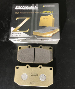 Dixcel Z Brake pad set Subaru WRX 4-pot Front
