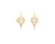 Temple St. Clair 18K Moonface Earrings