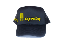 Load image into Gallery viewer, Logo Trucker BLACK/GOLD