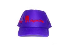 Load image into Gallery viewer, Logo Trucker PURPLE/RED