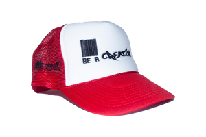 Logo Trucker Red/White