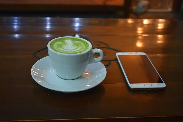 Spicy Green Latte