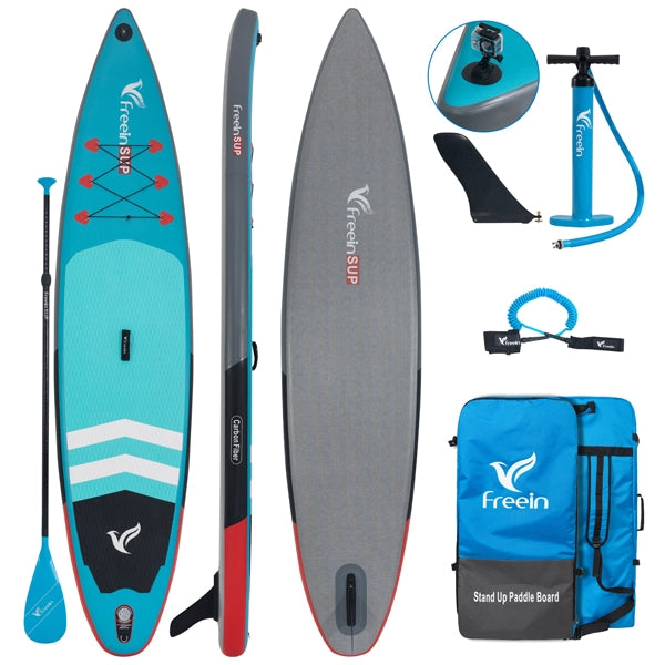 12'6''/11' Racer Inflatable Stand Up Paddle Board