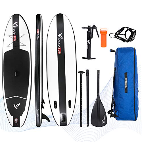10'2'' All Round Inflatable Stand Up Paddle Board | Black
