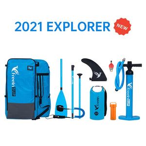 2021 Freein 11' / 10'2 Explorer Inflatable Sup Package