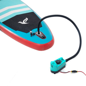 Freein 12V Electric Pump For Inflatable SUP | Light Blue