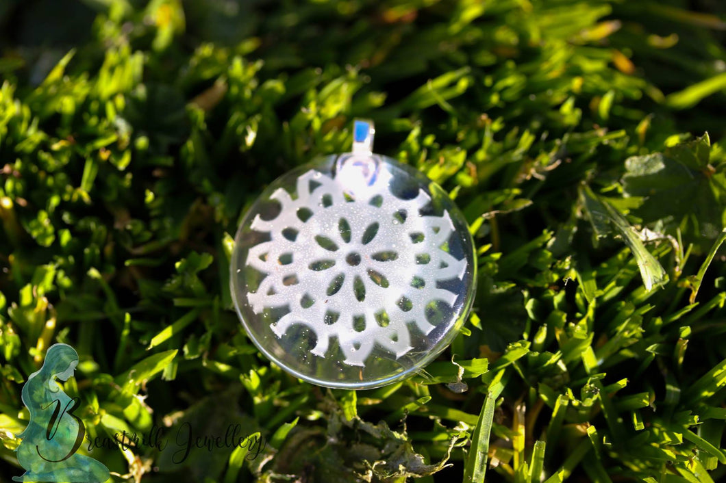 DNA Lace Pendant