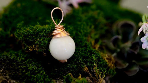 Wire Wrapped Orb Pendant