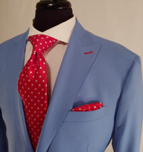 Load image into Gallery viewer, Classic Custom Powder Blue Suit