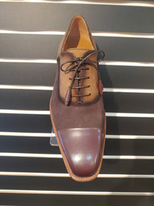 Drayton by Mezlan-Cognac & Brown