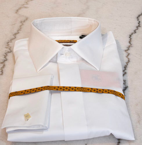 Classic Enzo White Dress Shirt