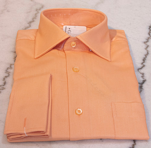 Classic Orange Dress Shirt
