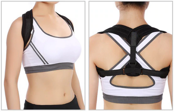 Posture Corrector Front and Back View