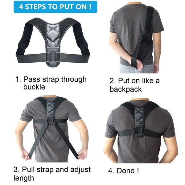 Posture Corrector How to Wear