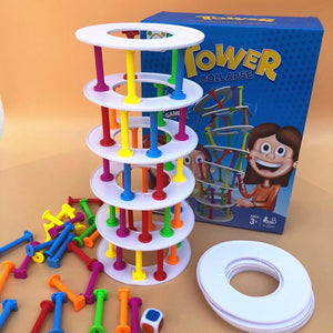 Tower Collapse Balance Game