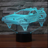 Home Decoration Classic Car Shape Small Night Light