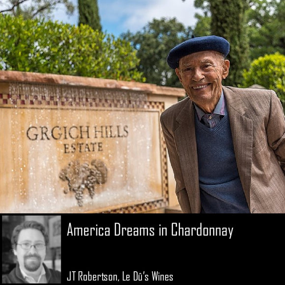 America Dreams in Chardonnay